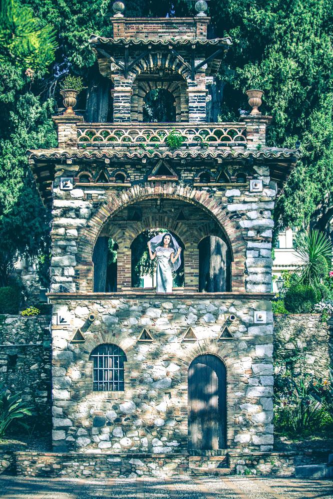 servizio wedding a taormina con Salvatore Marguccio